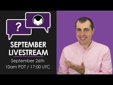 Bitcoin & Open Blockchain Q&A - Extravaganza (September 2020 Livestream)