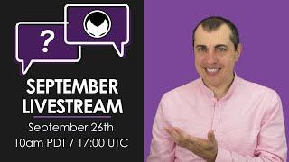 Bitcoin & Open Blockchain Q&A - September 2020 Livestream