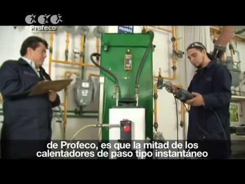 Calentadores de agua de uso doméstico [Estudio de Calidad' 49.1]
