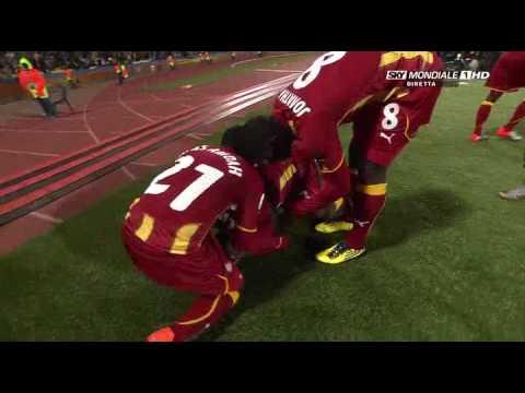USA vs Ghana 1-2 Goal By Asamoah Gyan 2010-06-26 .flv