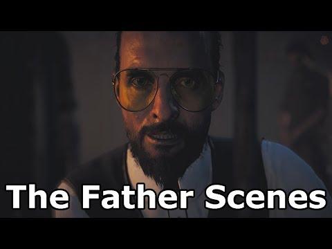 Far Cry 5 - Joseph Seed / The Father All Scenes