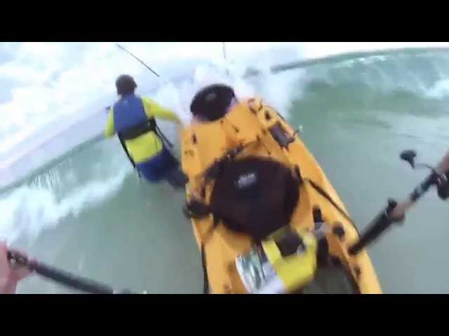 Offshore Kayak Fishing Destin Florida - Hobie - GoPro