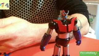 Mazinga Z - Bandai Mazinger Z Iron Cutter Edition – Super Robot Chogokin