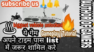 🔥🔥STICKMAN RACER ROAD DRAW 2 | biggest vehicle gameplay | level 1 & 2* || by author of gamers