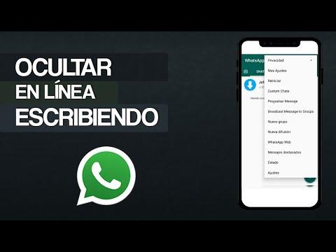 Cómo ocultar EN LÍNEA o ESCRIBIENDO en WhatsApp - Los Mejores TRUCOS