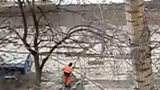 Ямковий ремонт 16.03.2016 р. р. Уфа, вул. Левітана