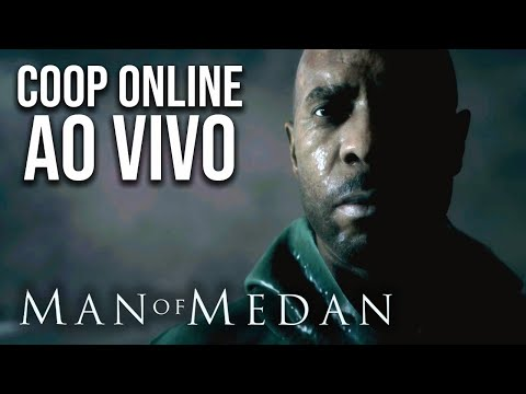 MAN OF MEDAN - Coop Online com MaxMRM | Gameplay Ao Vivo