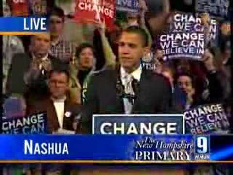 Obama Concedes New Hampshire Nomination