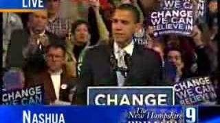 Obama Concedes New Hampshire Nomination