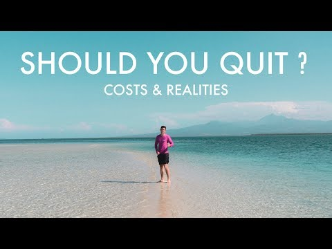 SHOULD YOU QUIT? Costs and Realities of Self-Employment