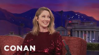 "Judy Greer Was A Good Luck Charm For ""The Big Sick"" & ""Get Out""  - CONAN on TBS"