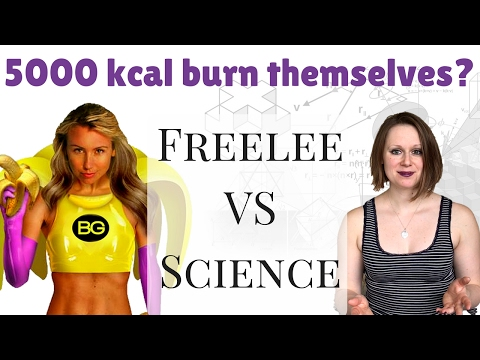 How to Eat 5000 kcal Without Gaining Weight? - Freelee the Banana Girl Debunked With Science