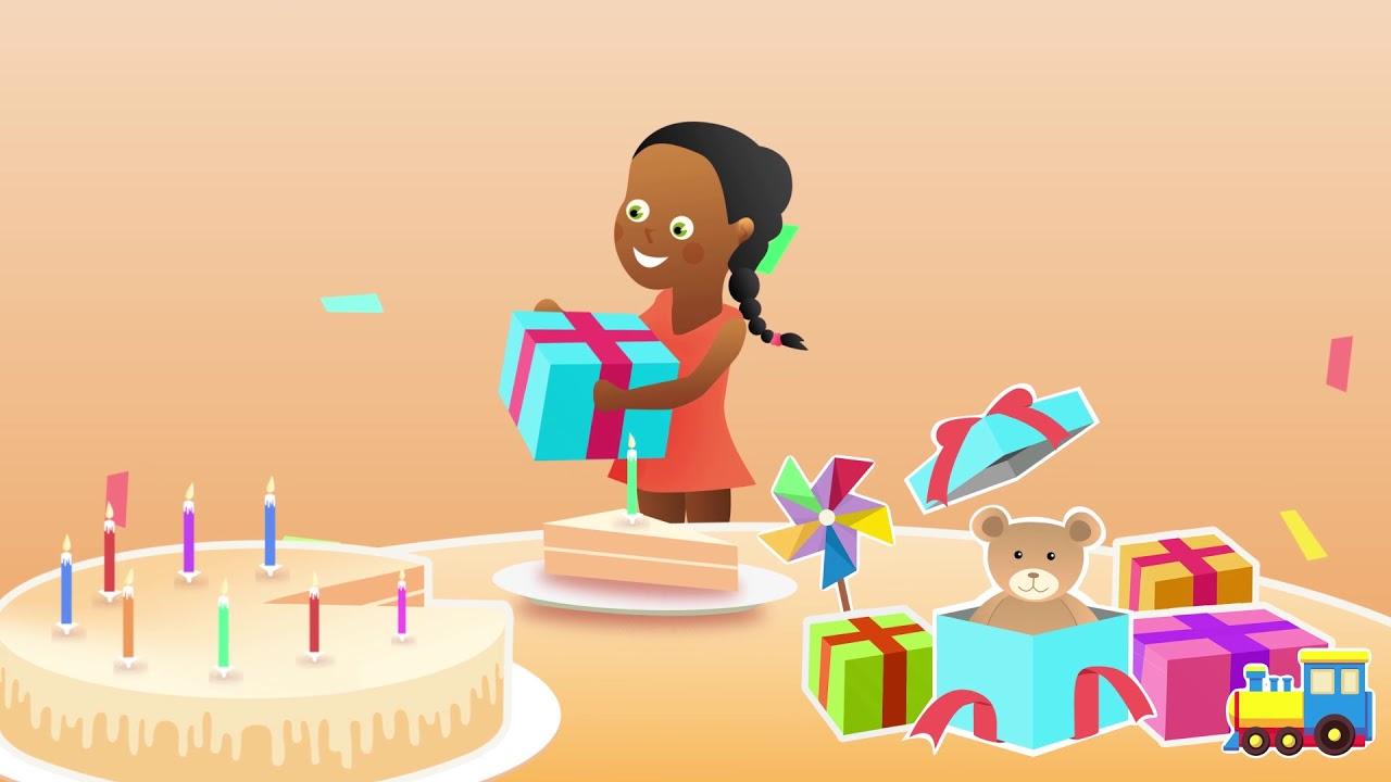 Comptine Pour Bebe Avec Le Prenom Sabine Joyeux Anniversaire Youtube
