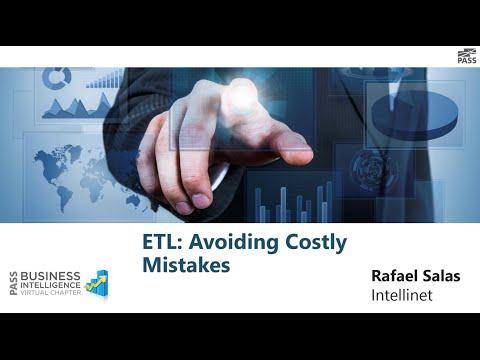 ETL  Avoiding Costly Mistakes