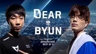ByuN vs. Dear TvP - Group C Decider - WCS Global Finals 2016 - StarCraft II