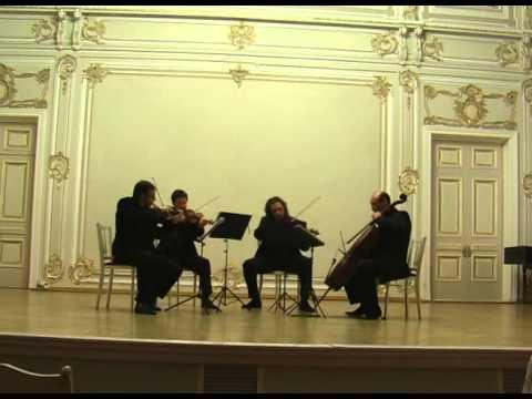 Alban Berg. String Quartet, Op.3. I. Langsam