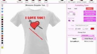 Online Custom T-Shirt Design Software and Application Tool by CBSAlliance.com