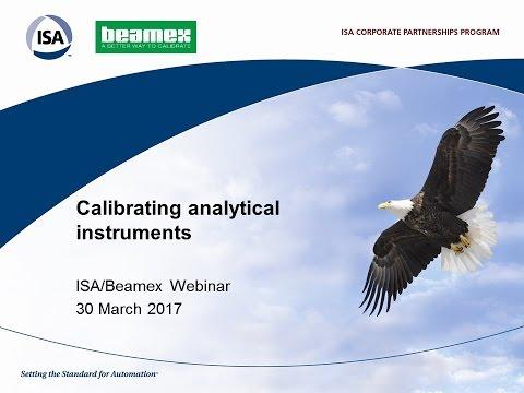 Calibrating analytical instruments