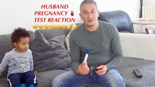 LIVE HUSBAND PREGNANCY REACTION 🙄😂🤩🤦‍♀️🤦‍♀️