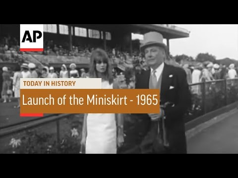 Launch of the Miniskirt - 1965 | Today in History | 30 Oct 16