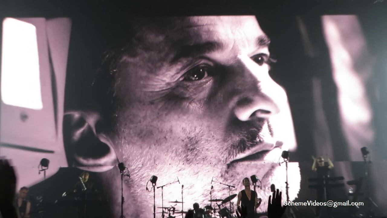 Depeche Mode Cover Me Madison Square Garden New York City 9 11 17 Youtube