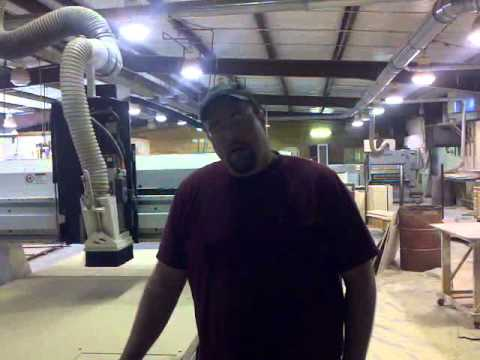 Woodworker talks about adding CNC Router