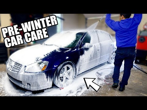 My Pre-Winter Car Cleaning Regimen