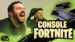 FORTNITE ON CONSOLE!!! (OpTicPlays)