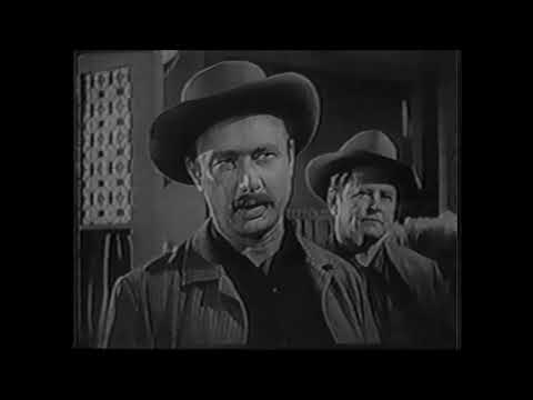 """THE ROUGH RIDERS:   """"THE WAGON RAIDERS"""" With Guest Stars Frank Fayden, Joan Banks. 6-4-1959"""
