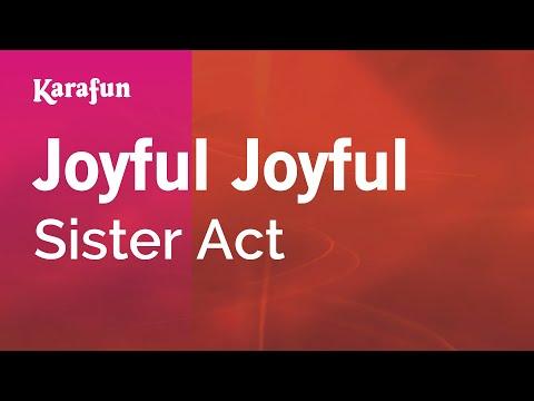 Karaoke Joyful Joyful - Sister Act *
