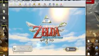 Zelda Skyward Sword (Jogo Configurado com Wii Motion Plus)