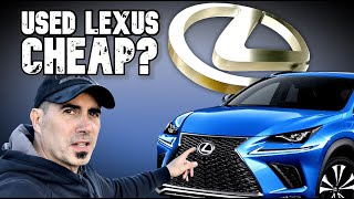Why USED LEXUS Are Not Cheap