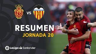 Resumen de RCD Mallorca vs Valencia CF (4-1)