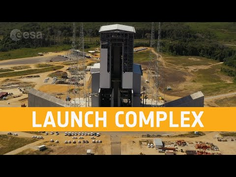 Ariane 6 launch complex - March 2020
