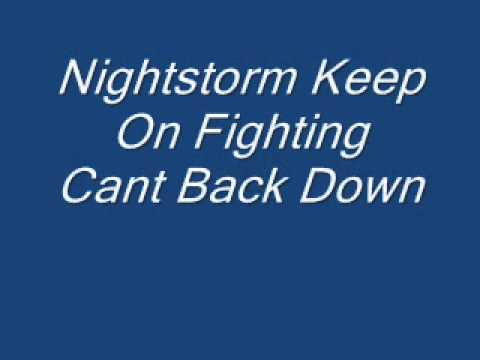 Nightstorm-Keep On Fighting(Can't Back Down)-Mp3