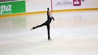 Александра Трусова, ПП на тренировке (Первенство России 2018)