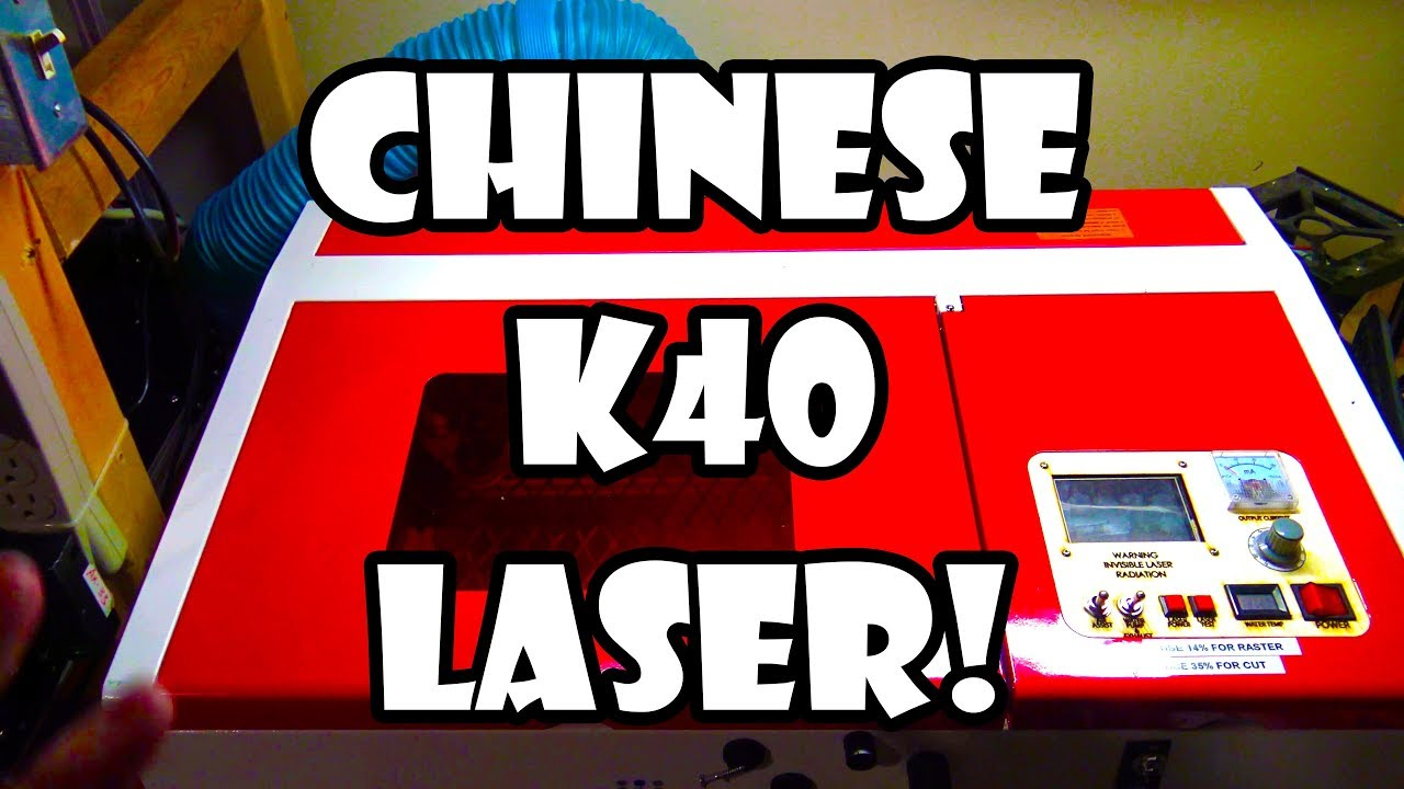 Modded Smoothieware Chinese K40 Laser Cutter Overview : LightTube