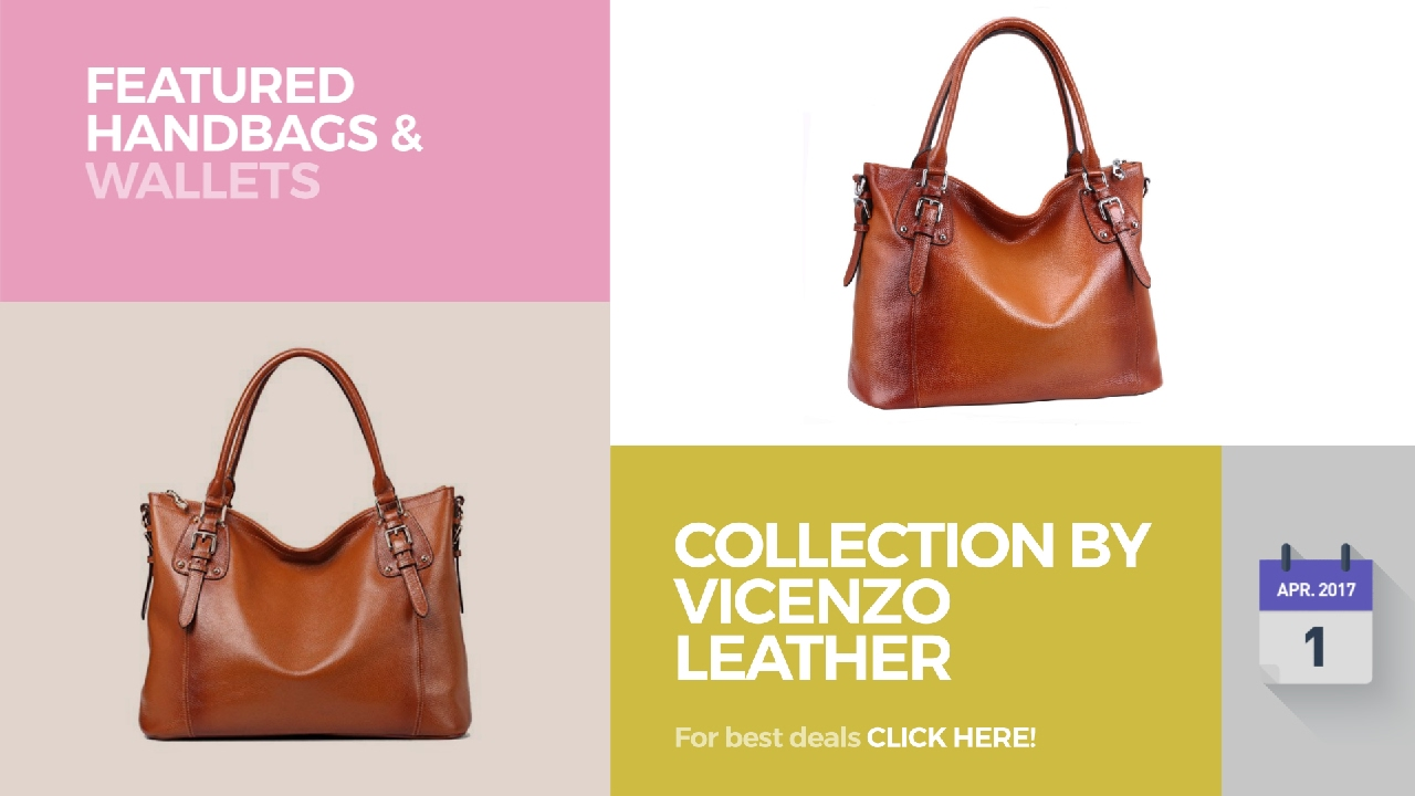 2e69f189fd Collection By Vicenzo Leather Featured Handbags   Wallets - YouTube