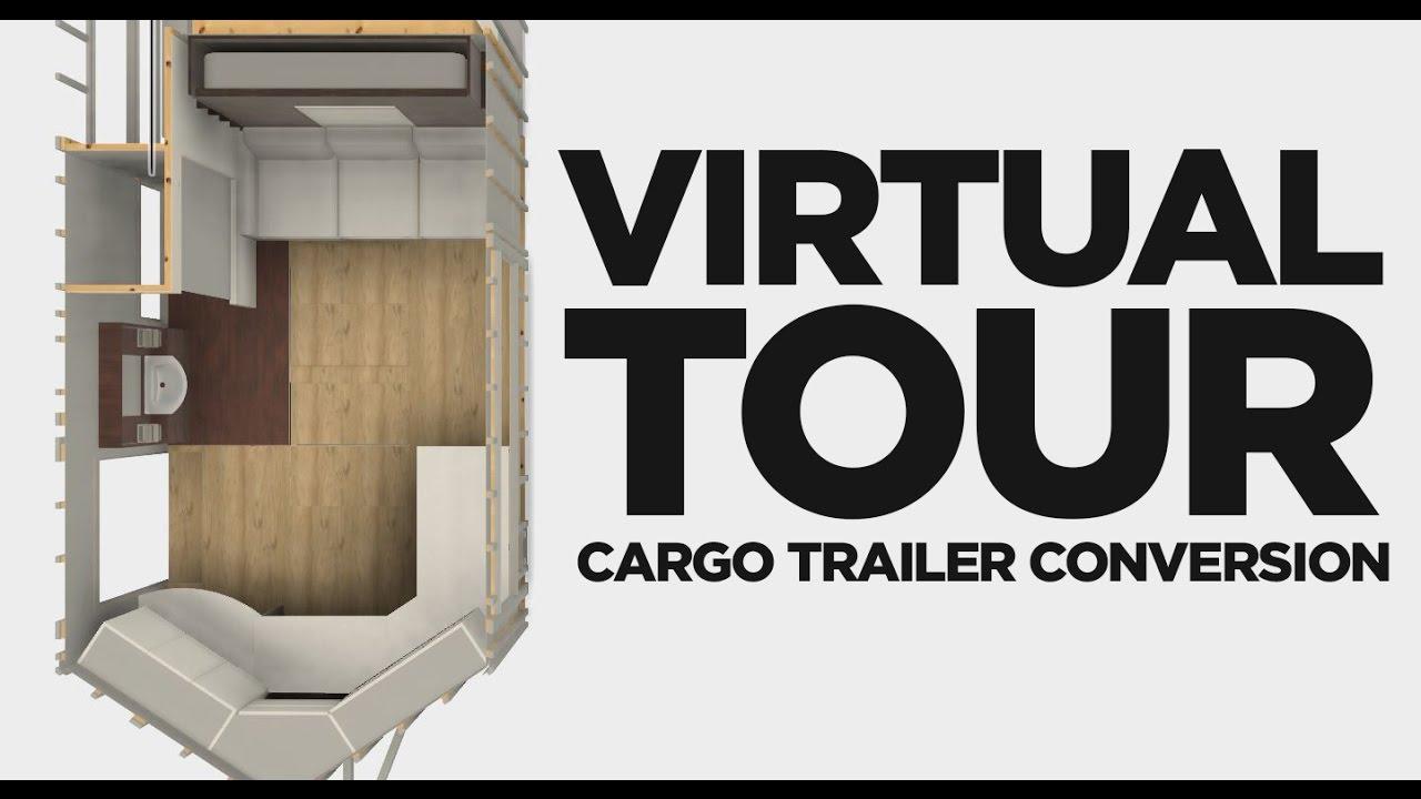 Cargo Trailer Camper Conversion Pre Build Virtual Tour