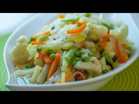 How To Cut A Vegetable Jardiniere Vegetable Jardiniere Recipe