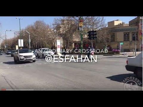 Traffic in Esfahan, Iran