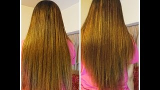V-shape hairstyle: Simple and easy way to cut my own hair by myself.