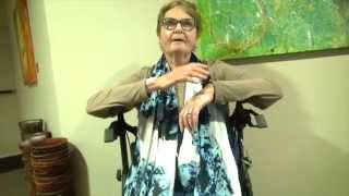 Pulmonary fibrosis & chronic osteoporosis healing - John Mellor Miracles in Jesus