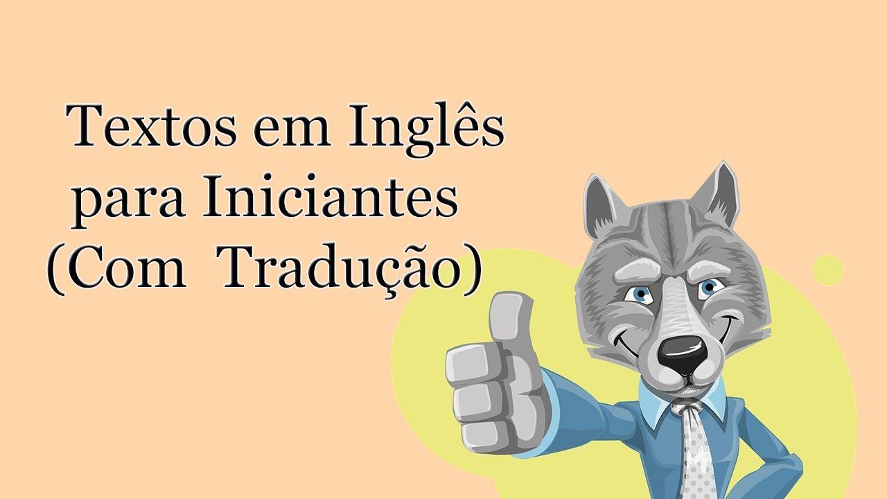 Textos em inglês: diálogos para iniciantes (com áudio e ...