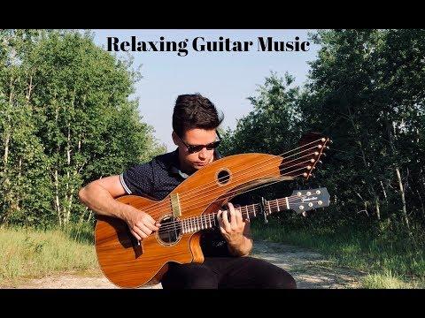 A Quiet Place - Relaxing Harp Guitar Music - Jamie Dupuis