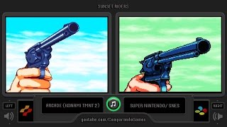 Gambar cover Sunset Riders (Arcade vs Snes) Gameplay Comparison | VCDECIDE