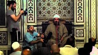 Recitation at Sayyidah Zainab Masjid