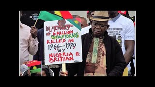 """""""British colonial system caused the Biafran War"""" Interview with Christopher Chukwuemeka Ejiofor, ..."""