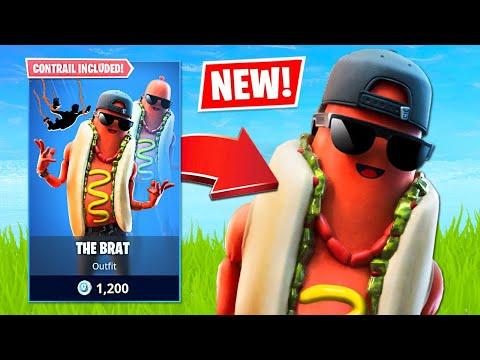 New Hotdog Skin & Squad Arena! (Fortnite Battle Royale)