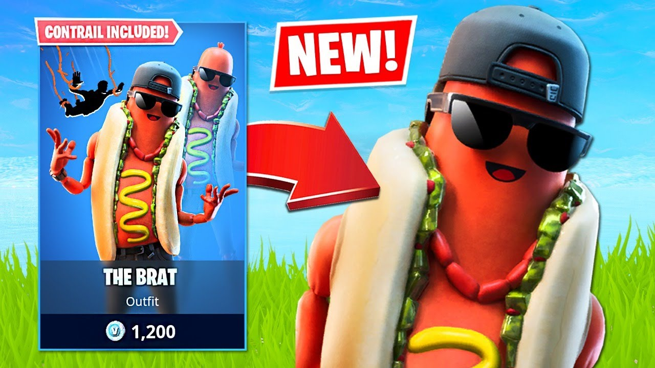 New Hotdog Skin & Squad Arena! (Fortnite Battle Royale) thumbnail
